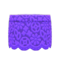 Floral Lace Skirt (Purple) NH Icon.png