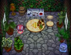 Bessie's house interior
