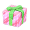 Illuminated Present (Pink with Green Ribbon) NH Icon.png
