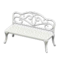 Iron Garden Bench (White) NH Icon.png