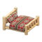 Log Bed (White Wood - Southwestern Flair) NH Icon.png