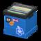 Record Box (Blue - Various) NH Icon.png