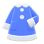 Terry-Cloth Nightgown (Blue) NH Icon.png