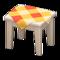 Wooden Mini Table (White Wood - Orange) NH Icon.png