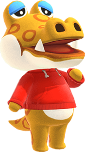 Alfonso, an Animal Crossing villager.