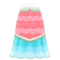 Mermaid Fishy Dress (Pink) NH Icon.png