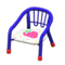 Baby Chair (Blue - Strawberry) NH Icon.png