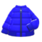 Down Jacket (Blue) NH Icon.png