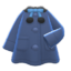Poncho Coat (Navy Blue) NH Icon.png