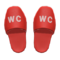 Restroom Slippers (Red) NH Icon.png