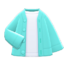 Cardigan-Shirt Combo (Mint) NH Icon.png