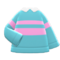 Energetic Sweater (Light Blue) NH Icon.png
