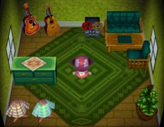 Biff's house interior
