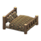 Log Bed (Dark Wood - Bears) NH Icon.png