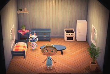 Interior of Mitzi's house in Animal Crossing: New Horizons