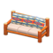 Log Extra-Long Sofa (Orange Wood - Geometric Print) NH Icon.png