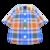 Madras Plaid Shirt (Blue) NH Icon.png
