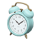 Old-Fashioned Alarm Clock (Light Blue) NH Icon.png