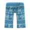 Elephant-Print Pants (Blue) NH Icon.png