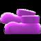 Flashy Animal Boots (Purple) NH Icon.png