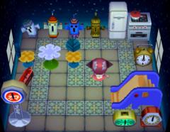 Aurora's house interior