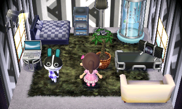 Interior of Dotty's house in Animal Crossing: New Leaf