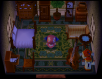 Leopold's house in Animal Crossing