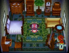 Leopold's house interior