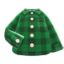 Flannel Shirt (Green) NH Icon.png