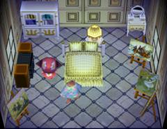 Pecan's house interior