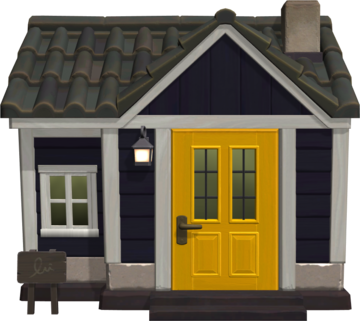 Exterior of Al's house in Animal Crossing: New Horizons