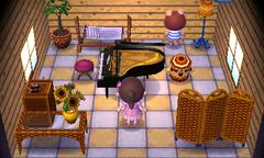 Peggy's house interior
