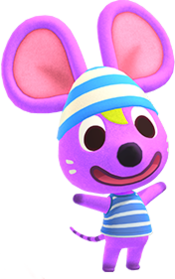 Rod, an Animal Crossing villager.