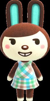 Carmen (rabbit), an Animal Crossing villager.