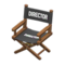 Director's Chair (Dark Brown - Director Black) NH Icon.png