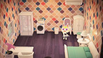 Interior of Monique's house in Animal Crossing: New Horizons