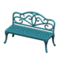 Iron Garden Bench (Blue) NH Icon.png