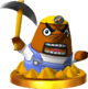 Resetti SSB4 Trophy (3DS).png