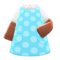 Sleeved Apron (Blue) NH Icon.png