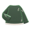 Thread-Worn Sweater (Green) NH Icon.png