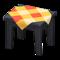 Wooden Mini Table (Black - Orange) NH Icon.png