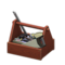 Wooden Toolbox (Dark Brown) NH Icon.png
