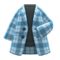 Checkered Chesterfield Coat (Blue) NH Icon.png