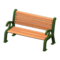 Garden Bench (Green) NH Icon.png
