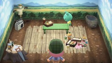 Interior of Tad's house in Animal Crossing: New Horizons
