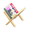 Magazine Rack (Natural - Weekly News) NH Icon.png