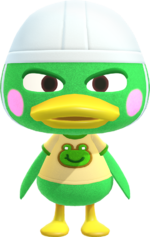Artwork of Scoot the Duck