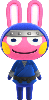 Snake, an Animal Crossing villager.
