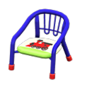 Baby Chair (Blue - Train) NH Icon.png