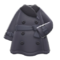 Pleather Trench Coat (Black) NH Icon.png